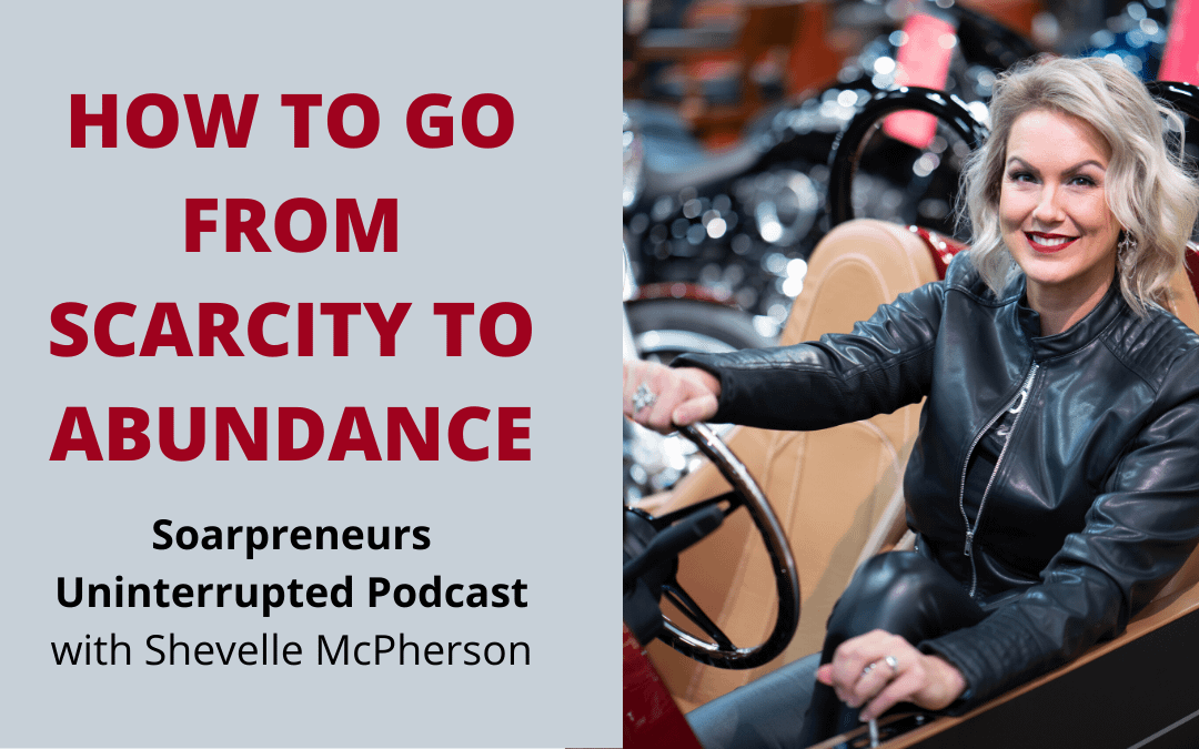 How to go from Scarcity to Abundance